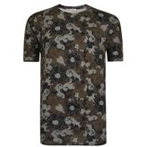 Versace Floral Camouflage T Shirt