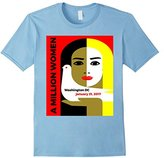 Million Women March T-Shirt - Flattering Slim Fit