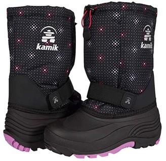 Kamik Rocket 2 (Toddler/Little Kid/Big Kid) (Black/Pink) Girls Shoes