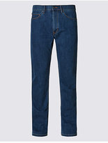 M&S Collection Straight Fit Stretch Water Resistant Jeans