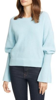 Joie Soleine Juliet Sleeve Wool Sweater