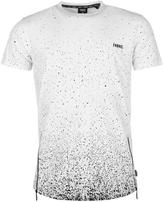 Fabric Splatter T Shirt Mens
