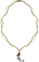 Lanvin Silver Bird Necklace