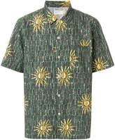 Universal Works abstract sun print shirt
