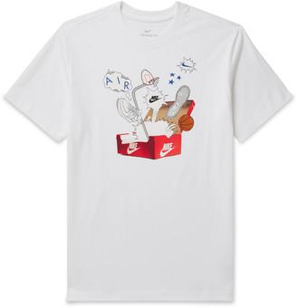 Nike Sportswear Printed Cotton-Jersey T-Shirt