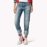 Tommy Hilfiger Cropped Straight Fit Jeans