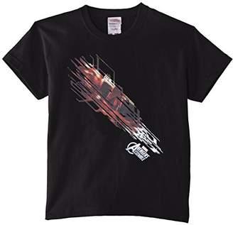 Marvel Boy's Avengers Assemble Iron Man Shooting Burst T-Shirt,(Size:9-11)