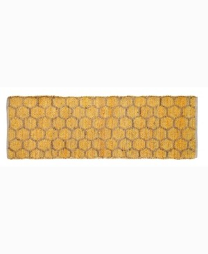 """Home Weavers Beehive Modern Accent 24"""" x 72"""" Rug Bedding"""