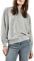 Topshop Women's Batwing Velvet Sweater
