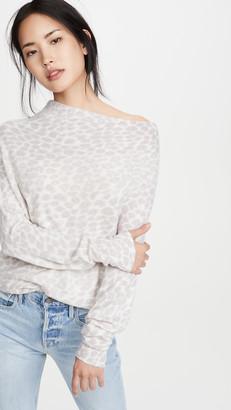 Brochu Walker Lori Luxe Off Shoulder Cashmere Sweater