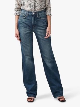 Frame Jane Wide Leg Jeans, Blue