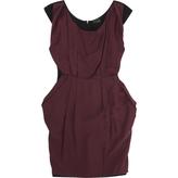Fendi Burgundy Dress