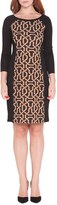 Olian Women's Graphic Print Maternity Dress