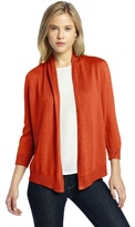Chaus Women's 3/4 Sleeve Open Front Cardigan