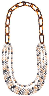 Max Mara Beaded Necklace