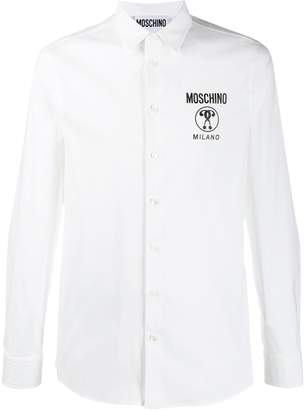 Moschino Double Question Mark shirt