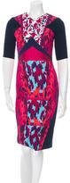 Peter Pilotto Hayden Digital Print Dress w/ Tags