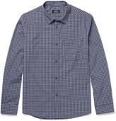 A.P.C. Chemise Checked Cotton-Poplin Shirt