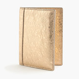 J.Crew Italian leather passport case