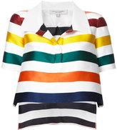 Carolina Herrera - blouse rayée crop