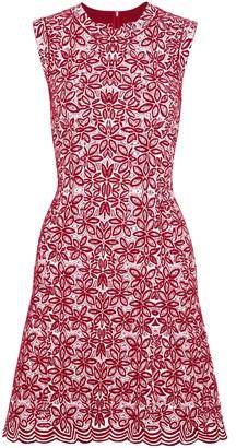 Alaia Wool-blend Jacquard Mini Dress