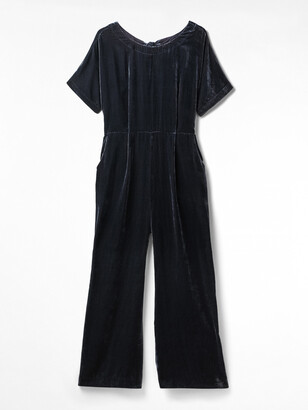 White Stuff Lola Velvet Jumpsuit