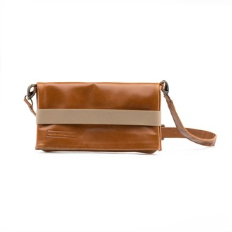 Maria Maleta Belt Bag Brown Classic Leather
