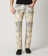 Rock Revival Biker Moto Slim Straight Jean