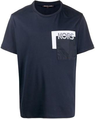 Michael Kors logo pocket crewneck T-shirt