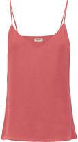 L'Agence Jane washed-silk top