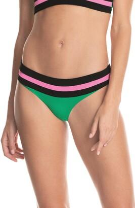 Maaji Grass Green Verona Reversible Bikini Bottoms
