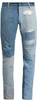 Longjourney T2 cotton-denim slim-leg jeans