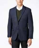 Lauren Ralph Lauren Men's Big and Tall Classic-Fit Blue Multi Houndstooth Sport Coat