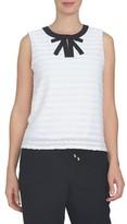 CeCe Women's Stripe Shell