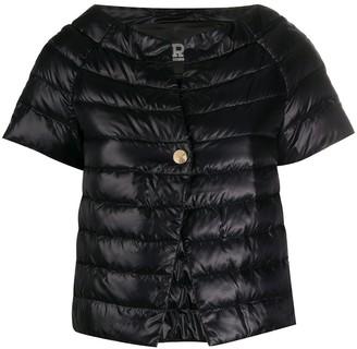 Herno Cropped Short Sleeve Puffa Jacket