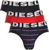 Diesel Men's 3-Pack Andre Cotton Stretch Briefs