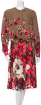 Gucci Silk Floral Dress