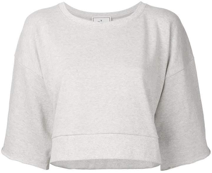Puma Maison Yasuhiro half sleeve cropped sweatshirt