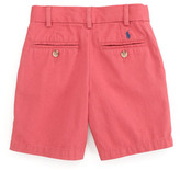 Ralph Lauren Preppy Saltwater Washed Shorts, Brick Red