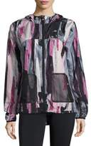 Nanette Lepore Packable Windbreaker