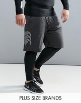 Canterbury Of New Zealand Canterbury Plus Vapordri Shorts In Black E523410-733