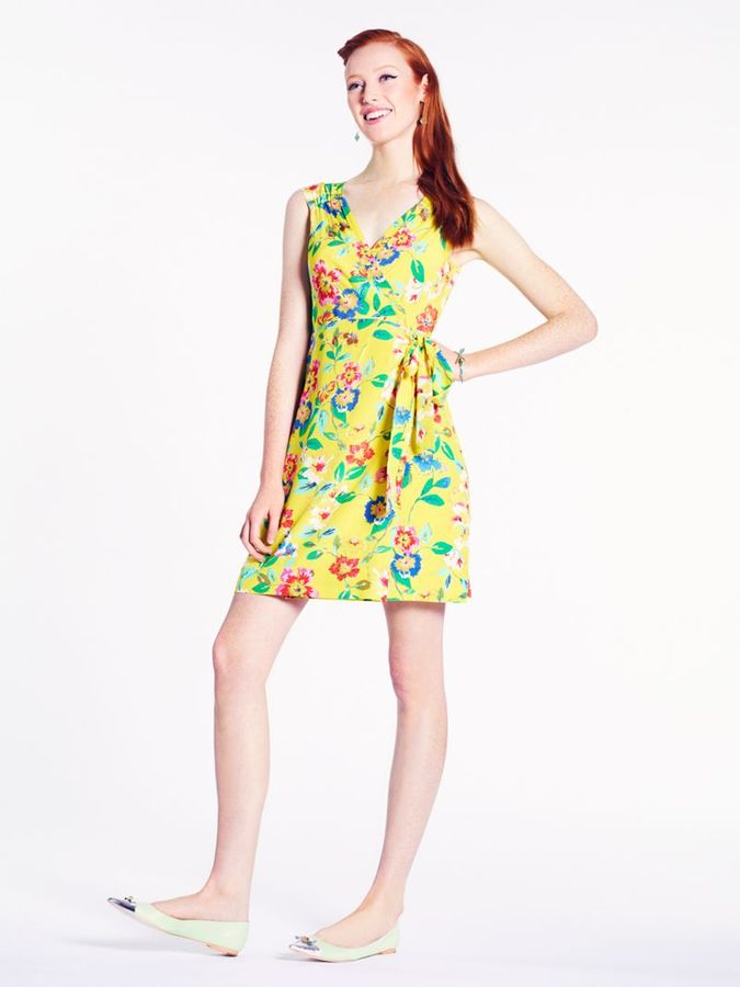 Kate Spade Petal floral cathleen dress