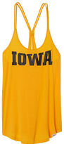 PINK University Of Iowa Super Soft Strappy Y-back Tank