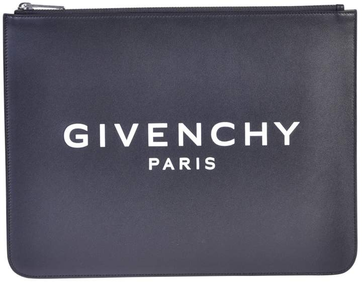 Givenchy Black Branded Pouch