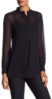 Anne Klein Long Sleeve Blouse