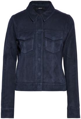 J Brand Suede Jacket