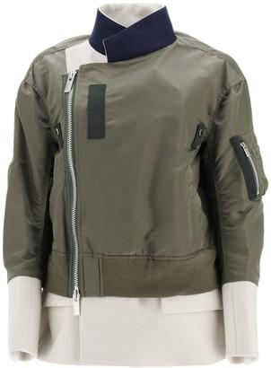 Sacai Panelled Jacket