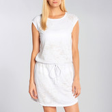 Allen Allen Burnout Raglan Dress