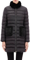 Moncler Women's Ancy Puffer Coat-BLACK