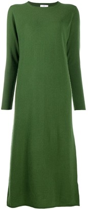 Allude Knitted Maxi Dress